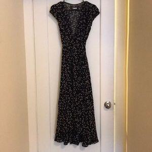 Reformation Maxi Wrap Dress XS